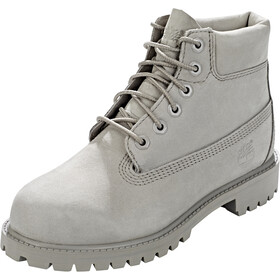 "Timberland Icon Collection Premium Boots Youth 6"" Grey Nubuck"